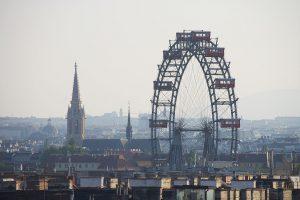 Wiener Riesenrad inmitten von Wien, Schlüsseldienst Wien